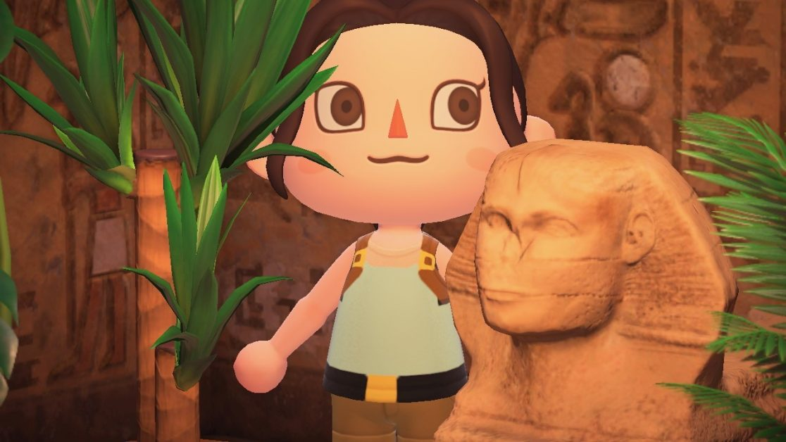 Read more about the article Tomb Raider's Lara Croft Custom Design Outfits for Animal Crossing New Horizons